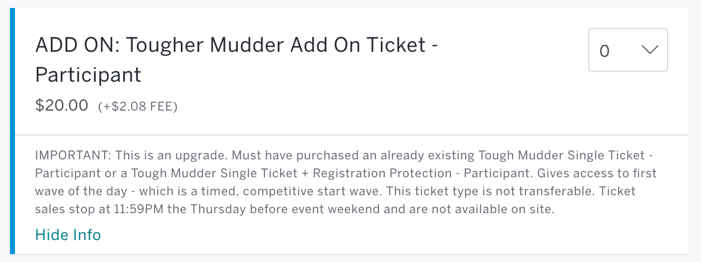 How to Buy Tougher Mudder Tickets
